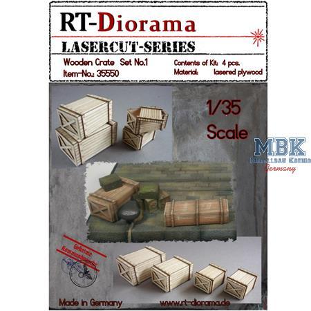 Wooden Crate / Holzkisten Set No.1