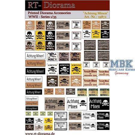 Printed Accessories: Achtung Minen