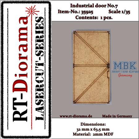 Industrial door No.:7