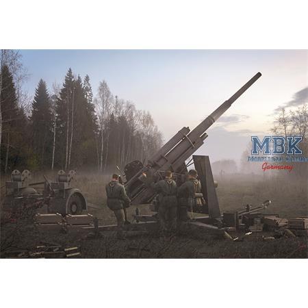 8.8cm FlaK 36/37 AA/AT Gun with SdAh 202