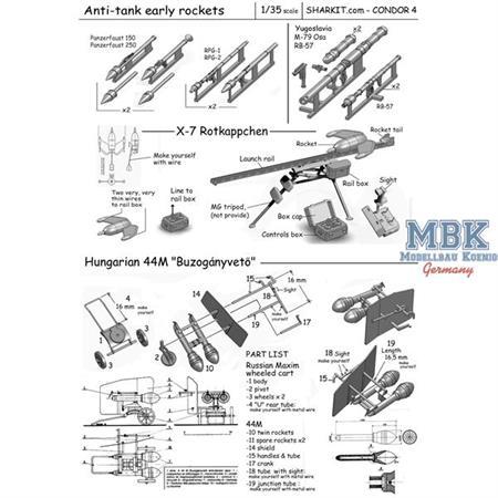 Early anti-tank rockets