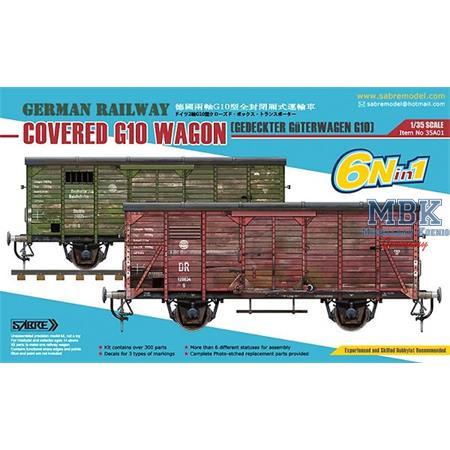Gedeckter Güterwagen G10 (6in1) - Coverd G10 Wagon