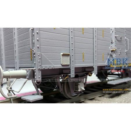 Gedeckter Güterwagen G10 (6in1) - Red Cross