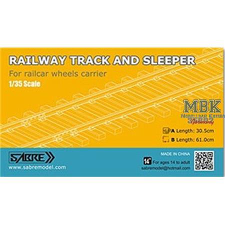 Railway Track / Bahnschienen ( 30.5cm )