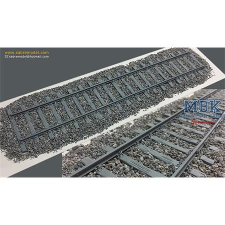 REAL RAIL STONES FOR DIORAMA / Schotter
