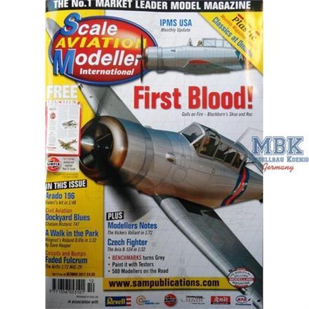 Scale Aviation Modeller - Oktober 2011