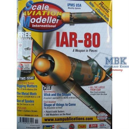Scale Aviation Modeller - November 2011