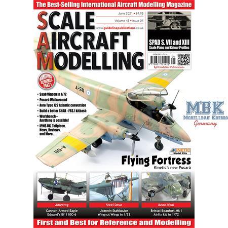 Scale Aircraft Modelling Juni / June 2021