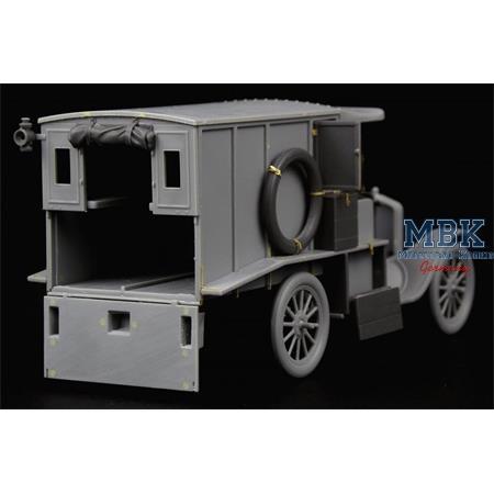 Ford Model T Ambulance update set for ICM