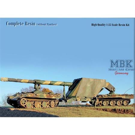 """28cm Rheinmetall DKM44 """"Düsenkanone"""""""