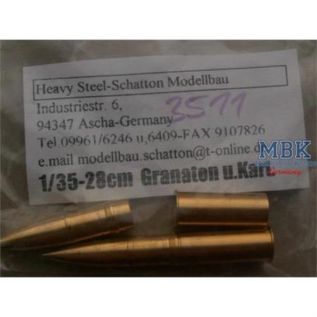 28cm K5(E) Munition