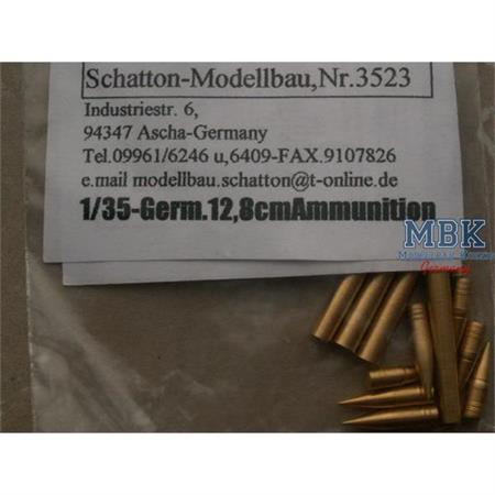 12,8cm Munitionsset