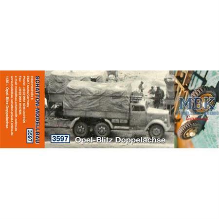 Opel-Blitz Doppelachse