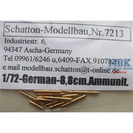 8,8cm PaK/Tiger Munition und Hülsen