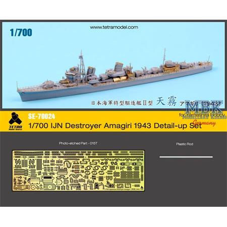 IJN Destroyer Amagiri 1943 Detail Set