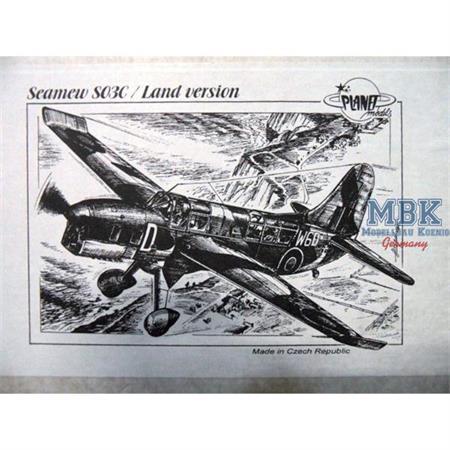 Curtiss SO3C Seamew / Land version