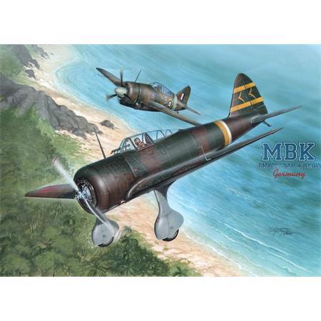 """Nakajima Ki-27 Otsu """"Over Malaya and Philippines"""""""