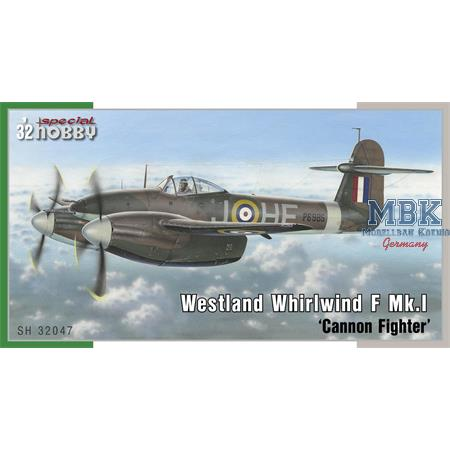 Westland Whirlwind Mk.I 'Cannon Fighter'