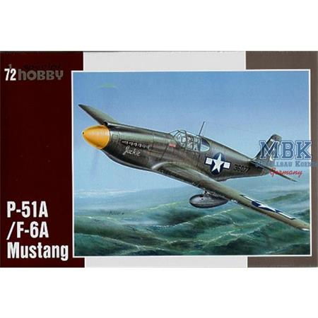P-51A/F-6A Mustang
