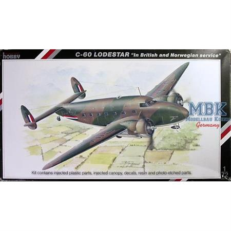 "C-60 Lodestar ""In British and Norwegian service"""