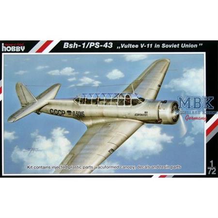 """BSh-1/PS-43 """"Vultee V-11"""" """"in Soviet Union"""""""