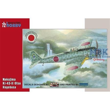 Ki-43-II Otsu Hayabusa 1/72