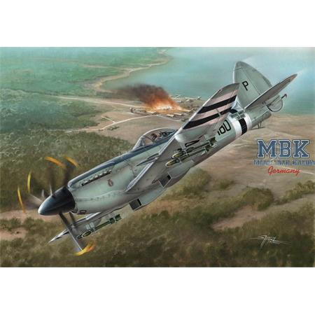 Supermarine Seafire FR MK.47 Korean War