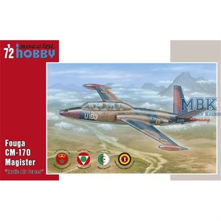 "Fouga CM.170 Magister ""Exotic Air Forces"""