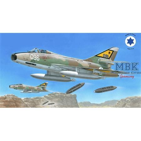 SMB-2 Super Mystère Sa'ar Israeli Storm in the Sky