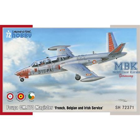 "Fouga CM.170 Magister ""French, Belgian and Irish"""