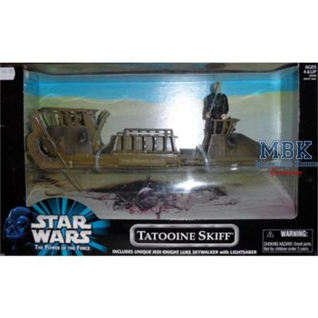 Tatooine Skiff mit Luke Skywalker