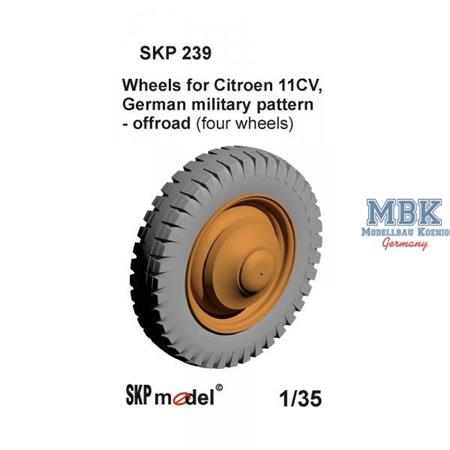 Wheels for Citroen 11CV
