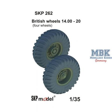 British wheels 14.00 - 20