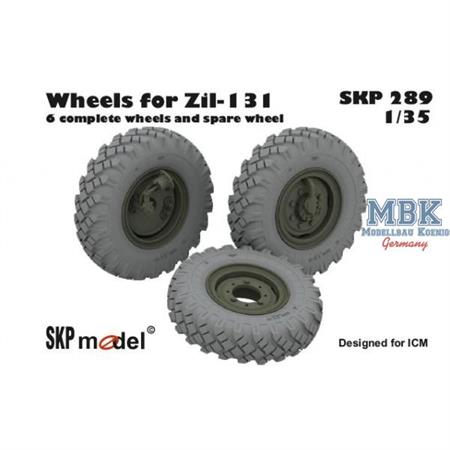 Wheels for ZiL-131