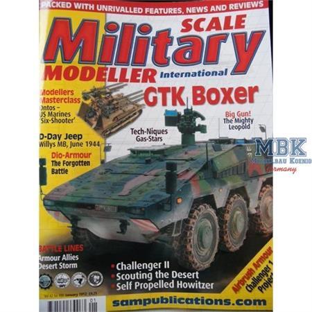 Scale Military Modeller - Januar 2012