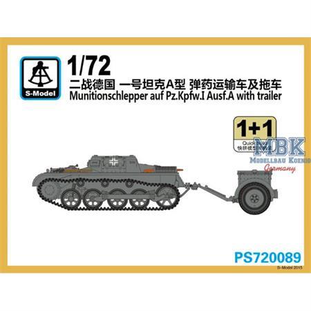 Munitionsschlepper auf Pz. I Ausf. A w/ trailer