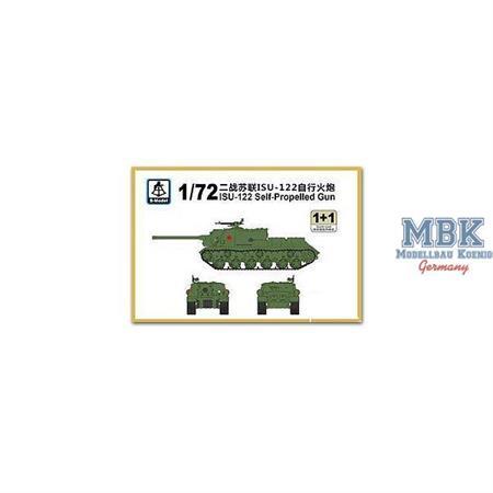 ISU-122 Self-Propelled Gun (2in1)