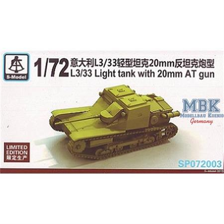 L3/33 light Tank w/ 20mm AT (Limitiert)
