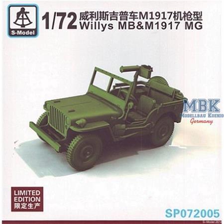 Willys MB &  M1917 MG   -- Limitiert --