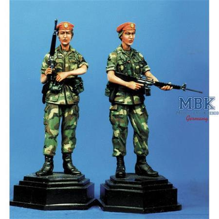 Military Policewomen 16th MP BDE Grenada 1983