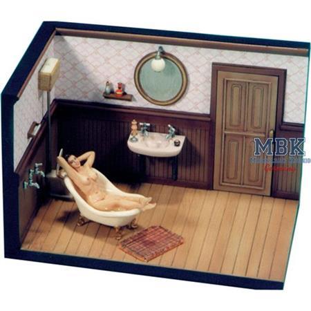 Bathing Girl 2 in Bathroom