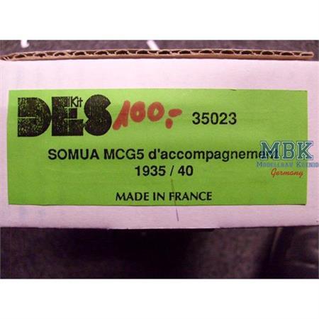 Somua MCG5 d`accompagnement 1935/40
