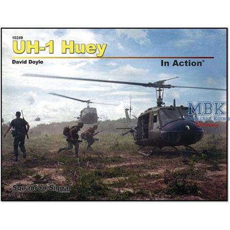 Bell UH-1 HUEY in Action