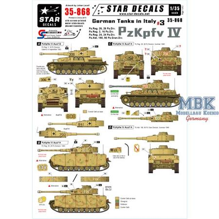 German Tanks in Italy #3