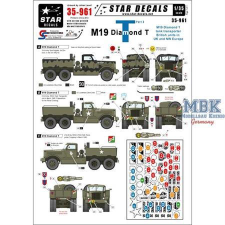M19 Diamond Tank transporter #3