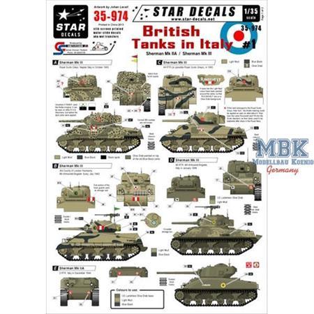 British Tanks in Italy #1 - Shermans