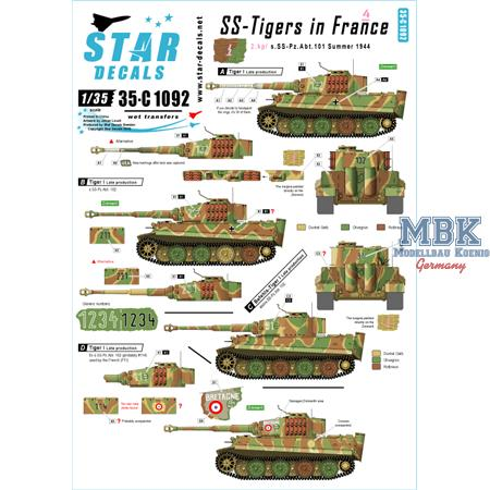 SS-Tigers in France # 4.