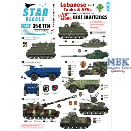 Lebanese Tanks & AFVs 7