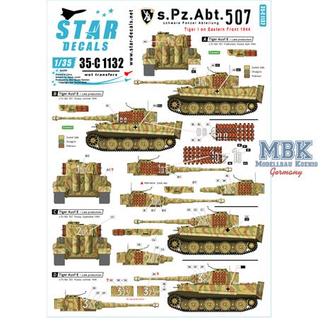s.Pz.Abt. 507 Tiger I