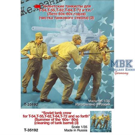The Iron Curtain Soviet Tank Crew cleaning barrel